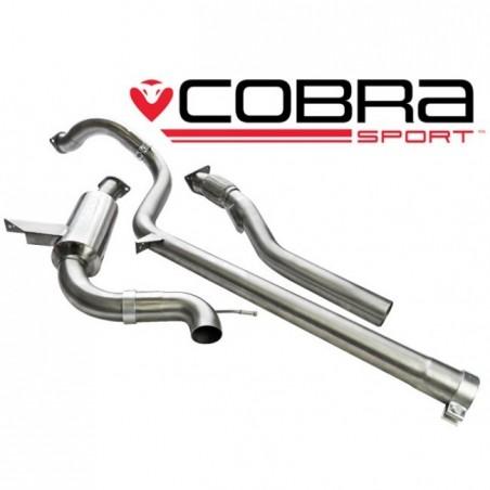 Echappement COBRA Sport pour RENAULT MEGANE RS 250 et 265 Cup après catalyseur (catback)