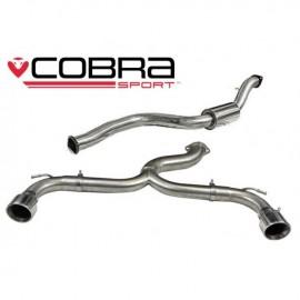 Echappement COBRA Sport pour FORD Focus ST 225 (MK2) apres catalyseur