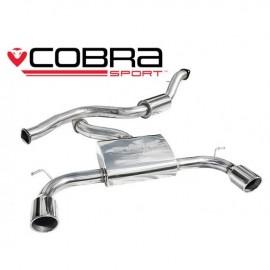 Echappement COBRA Sport FORD FOCUS ST 225après catalyseur (Catback)