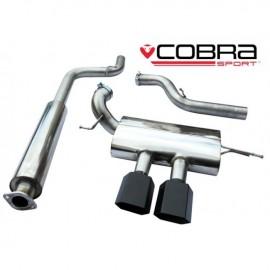 Echappement COBRA après catalyseur (Catback) pour FORD Focus ST 250 (MK3). 76mm