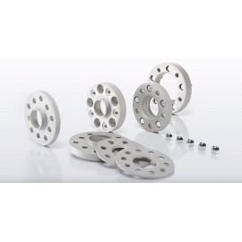 Elargisseurs (la paire) 5 mm Alfa Romeo 156 01.00 - 05.06 sans centreur, sans visserie perçage 98/5 M12x1,25