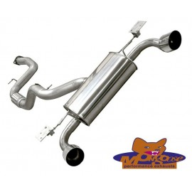 Focus RS Mk2 Mongoose Cat Back System