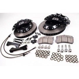 Kits Gros Freins Avant D2 Racing : 4, 6, 8 & 12 Pistons (286 à 444 mm)