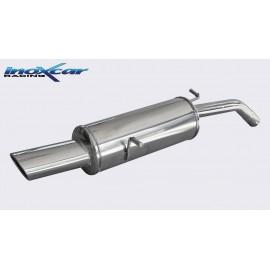 CITROEN DS3 1.6 TURBO RACING (207CV) 2011-- Diam. 55 Silencieux 1X120X80 INOXCAR