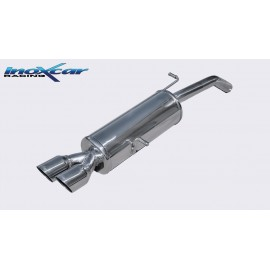 CITROEN DS3 1.6 TURBO RACING (207CV) 2011-- Diam. 55 Silencieux 2X80 RACING INOXCAR