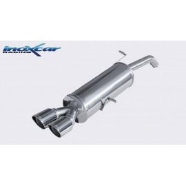 CITROEN DS3 1.6 TURBO RACING (207CV) 2011-- Diam. 55 Silencieux 2X80 X-RACE INOXCAR