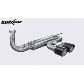 FORD FOCUS MK3 2.0T ST (250CV) 2012-- Diam. 60 Silencieux CEN 2X100 X-RACE BLACK EDITION INOXCAR