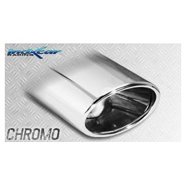 PEUGEOT RCZ 1.6 THP (156CV) 2010-- Silencieux 1X150X105 OBLIQUO INOXCAR
