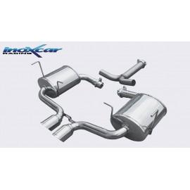 MINI COOPER 1.6 S (170CV) 2001-2006 Ø 57 (Type R53) Silencieux CEN 2X80 RACING INOXCAR