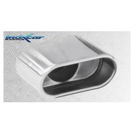 RENAULT CLIO 2 RS 2.0 fase1 (172CV) 2000-2001 Ø 54 Silencieux DUPLEX 1XOBLONG INOXCAR
