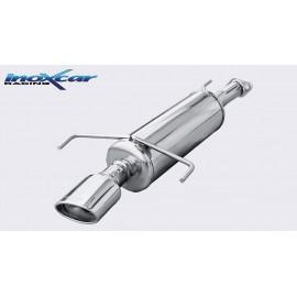 OPEL ASTRA G 2.0 16V OPC (160CV) / 2.0 TURBO 2000-- Silencieux 1X120X80 INOXCAR