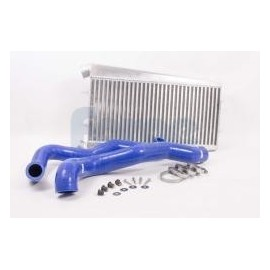 Ford Fiesta 1.0T Ecoboost Intercooler Upgrade - Durites Couleur Bleu