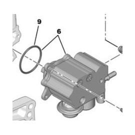 Pompe haute pression pour 208 GTI 1.6L THP 200 ORIGINE PEUGEOT