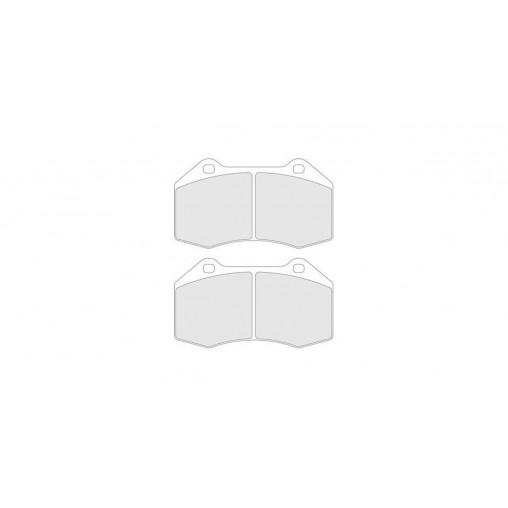 plaquettes de frein cl brakes rc6 avant renault megane 2. Black Bedroom Furniture Sets. Home Design Ideas