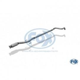 Tube de suppression de silencieux avant inox pour Peugeot 208 GTI Fox