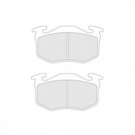 Plaquettes de Frein CL Brakes RC5+ Arrière Peugeot 206 RC 11mm