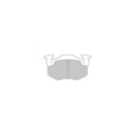 Plaquettes de Frein Arriere Ferodo DS3000 - Citroen - Peugeot - Renault