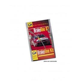Kit Flexibles de Frein Durite Aviation Complet Goodridge Subaru BRZ / Toyota GT86 Après 2012 4 Pièces