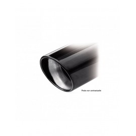 Echappement Inoxcar 2 Silencieux Arrière 1X100 X-RACE BLACK EDITION MAZDA 3 2.3 TURBO 16V MPS 260CV après 2006