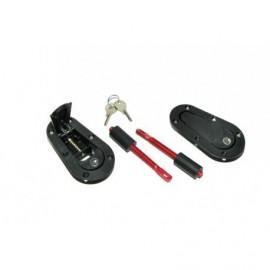 Attaches Capot Aerocatch avec Fermeture à clefs (la paire)