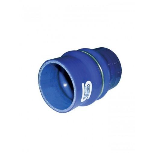 Coupleur Flex Silicone Silicon Hoses 83mm Longueur 100mm Bleu