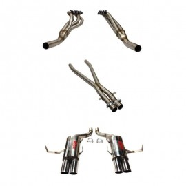 BMW M5 (E39) 5.0 32V S52B50 10/1998-06/2003 Ligne inox RC RACING diamètre 60mm
