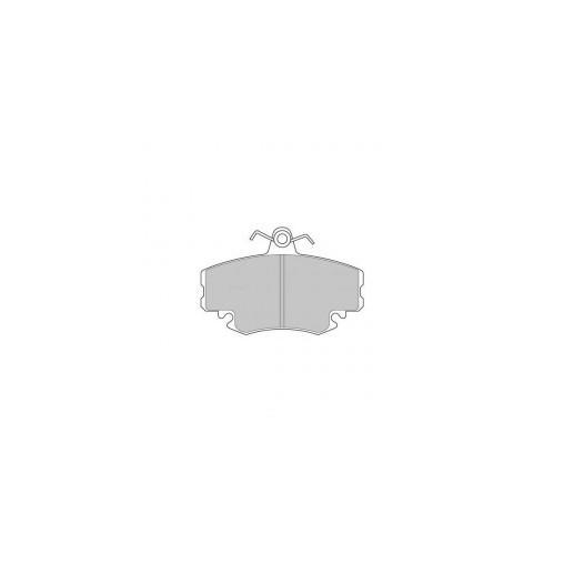 plaquettes de frein ferodo ds2500 avant 206 gti 1 9 tpms. Black Bedroom Furniture Sets. Home Design Ideas