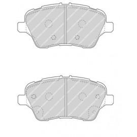 Plaquettes de freins avant Ferodo DS2500 pour Fiesta 6 ST 1.6 Turbo