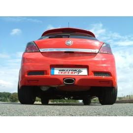 Opel Astra Mk5 VXR 2.0 Turbo 2005 - 2010 63.5 mm Ligne Complete MILLTEK