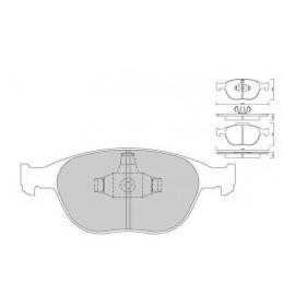 Plaquettes de freins Galfer avant fiesta mk5 st 150 Sport FDT1055