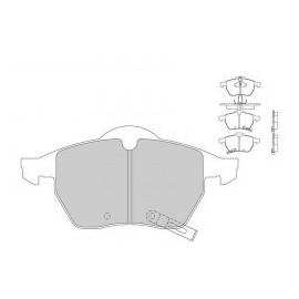 Plaquettes de freins Galfer avant astra g opc Sport FDT1055