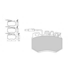 Plaquettes de freins Galfer avant 205 1.3 rallye Sport FDT1055