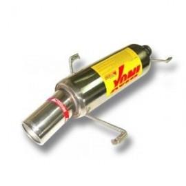 PEUGEOT 306 2.0 16V 155cv 97- Silencieux inox RC RACING