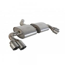 Titanium cat-back system
