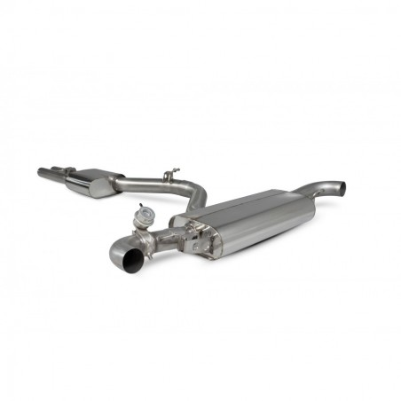 Scorpion Audi TT RS MK2 Resonated cat-back system with valve
