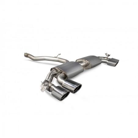 Scorpion Audi TT S MK3 Non GPF Model Non-resonated cat-back system (with valves)