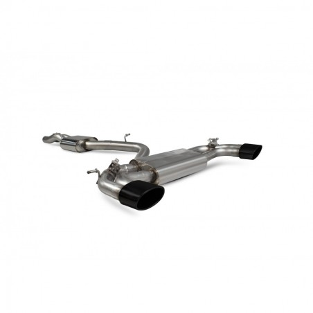 Scorpion Audi TT RS MK3 Non GPF Model Resonated cat-back system with electronic valves
