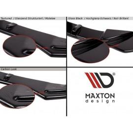 MAXTON Lame Du Pare-Chocs Avant Skoda Fabia RS Mk1