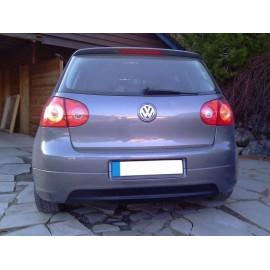 MAXTON RAJOUT DU PARE-CHOCS ARRIÈRE VW GOLF V GTI EDITION 30 (version sans sortie pour pot final d'echappement, sortie d'echap