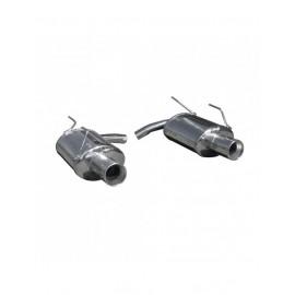 Echappement Inoxcar Silencieux Arrière 1X102 droit+gauche HONDA S2002 2.0 240CV après 1999