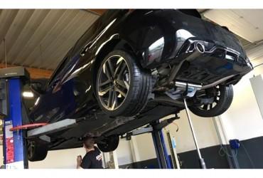 Installation d une ligne Bastuck sur notre 308 GTI 270